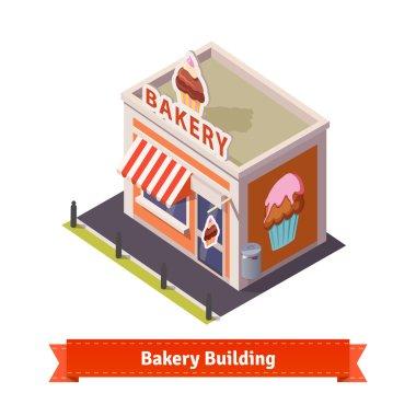 Bakery shop building
