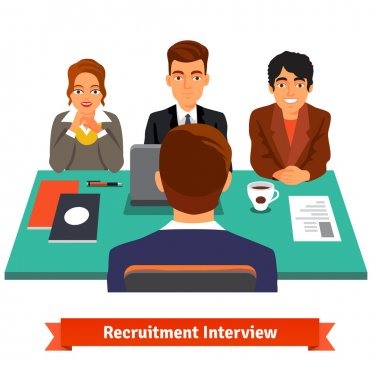 Man having Interview with HR specialists