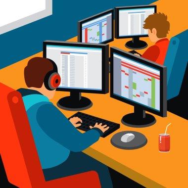 Software development office