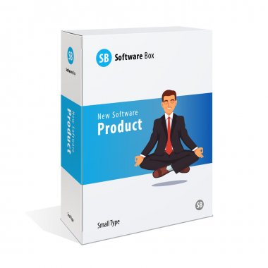 Software box template