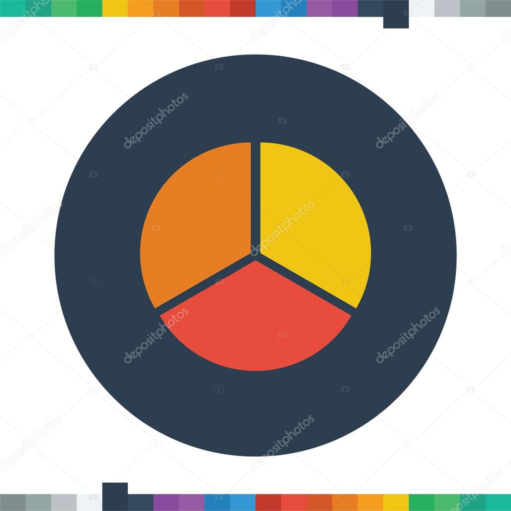 Segment pie chart iconcircle diagram business icon stock segment pie chart iconcircle diagram business icon vector by mfbs ccuart Images