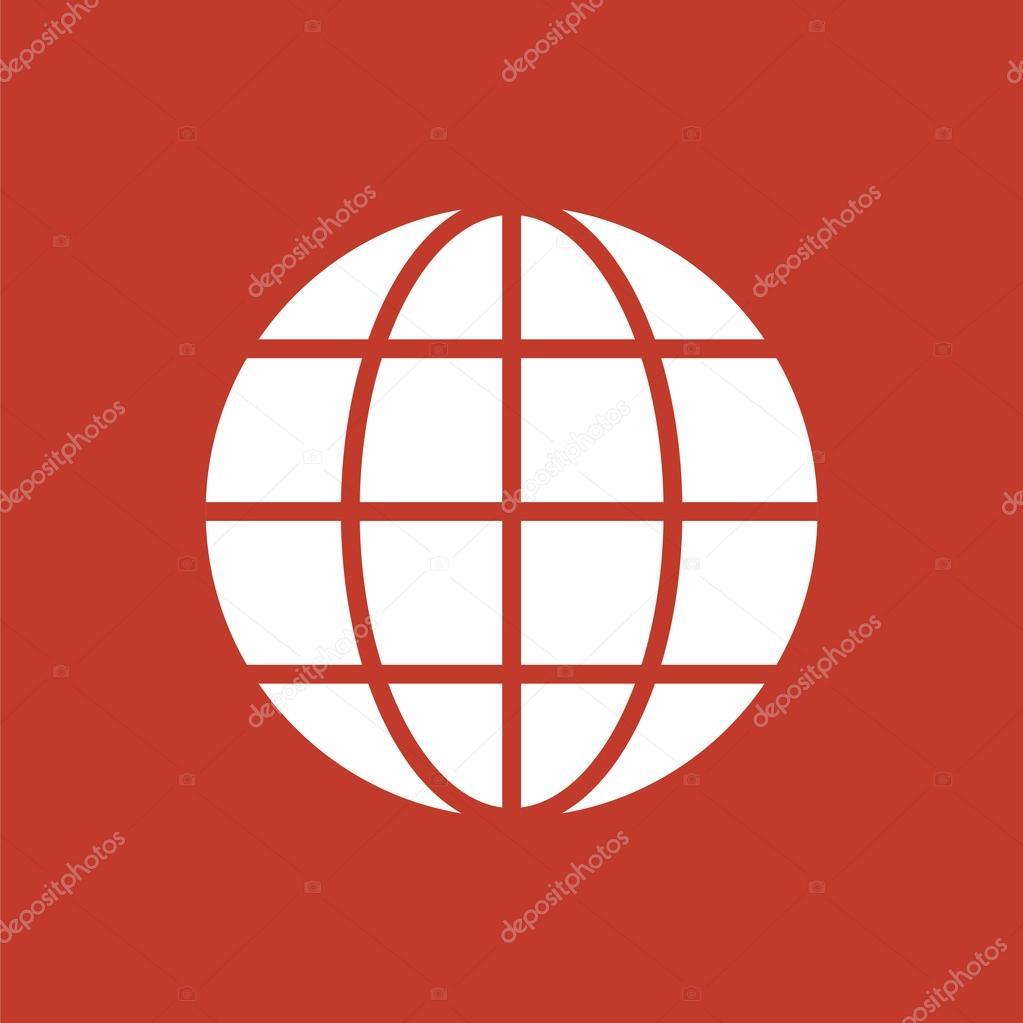 Globe icon  Planet icon  Internet icon  — Stock Vector