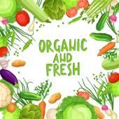 Zöldség háttér szöveg.