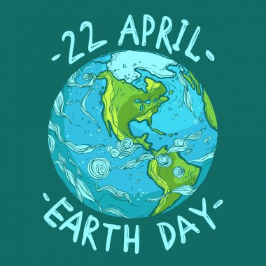ecological Earth Day poster