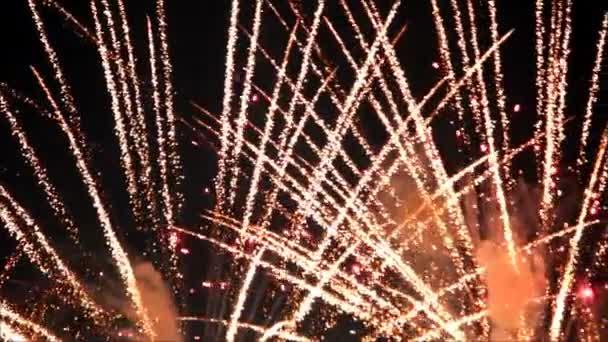 lassú mozgás villog a tűzijáték