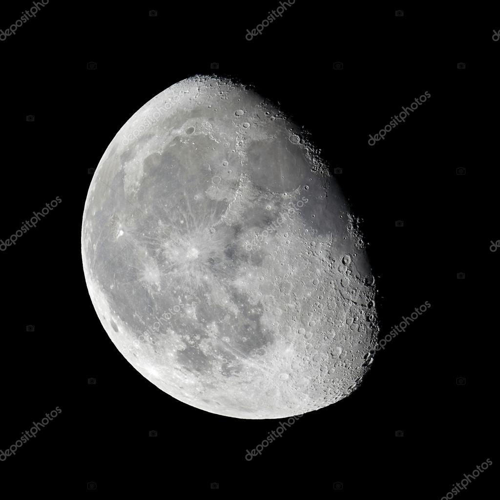 Moon - waning gibbous