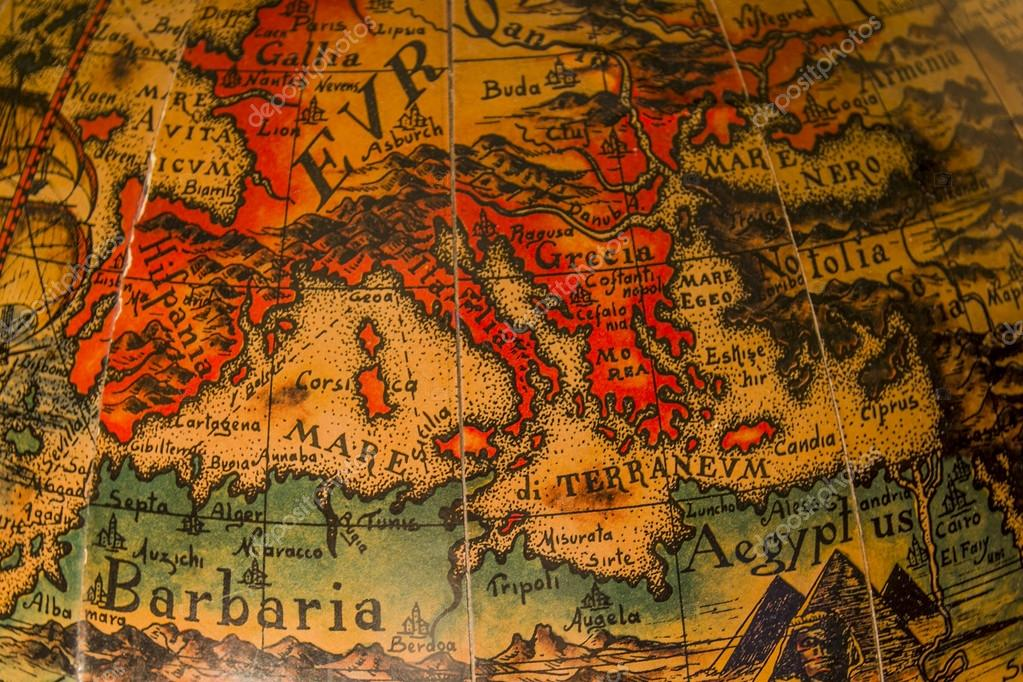 Map of ancient mediterranean | Ancient map of the ...