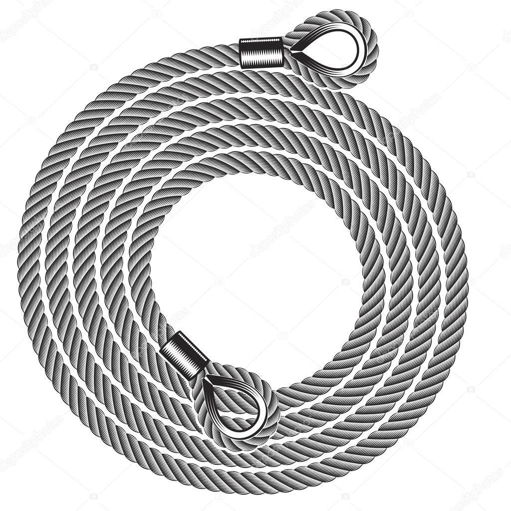 hank of tow ropes