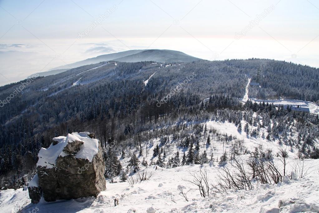 Czech north mountain tops — Stock Photo © OndrejSchaumann #83564560