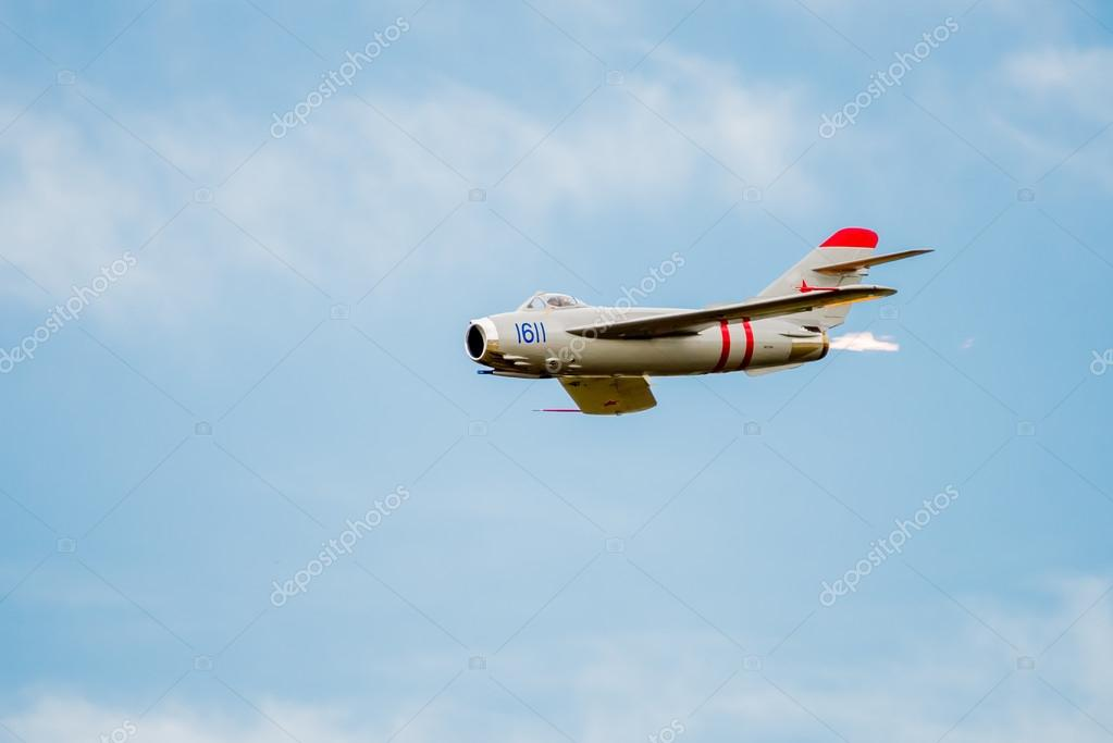 Mig 17 Jet With After Burner Stock Editorial Photo DJHolmes86