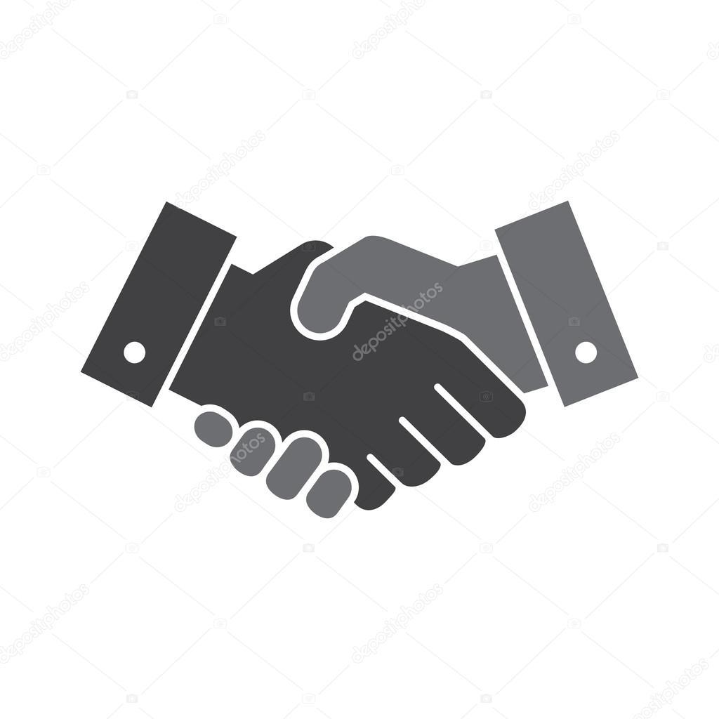 vector handshake icon stock vector alliya2000 98223850 rh depositphotos com handshake vector illustration handshake vector illustration