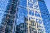 Skyscraper. Modern office building.