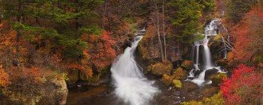 Ryuzu Falls near Nikko, Japan in autumn
