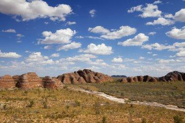 Purnululu National Park, Western Australia on a sunny day