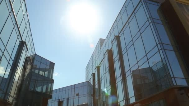 Administrative building in the sun