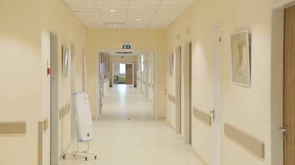 View of corridor in the hospital
