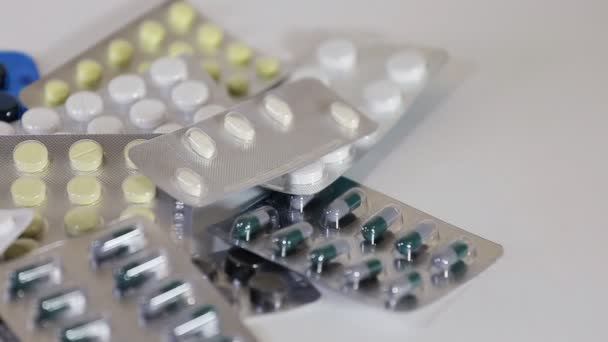 Pills and tablets with blister packs