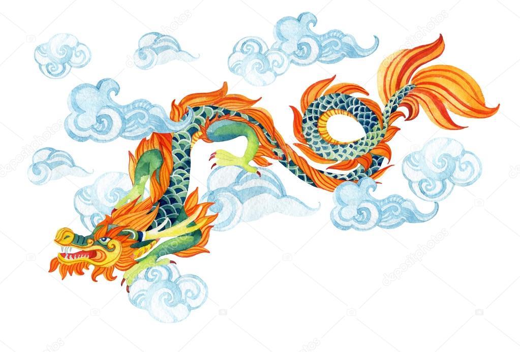 Dragon chinois illustration de dragon asiatique photographie tetiana syrytsyna 110760942 - Photo dragon chinois ...