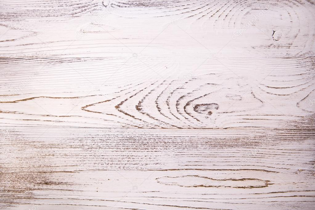 Vintage White Wood Texture With Natural Patterns Background Stock Photo