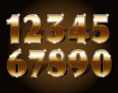 Golden numbers set