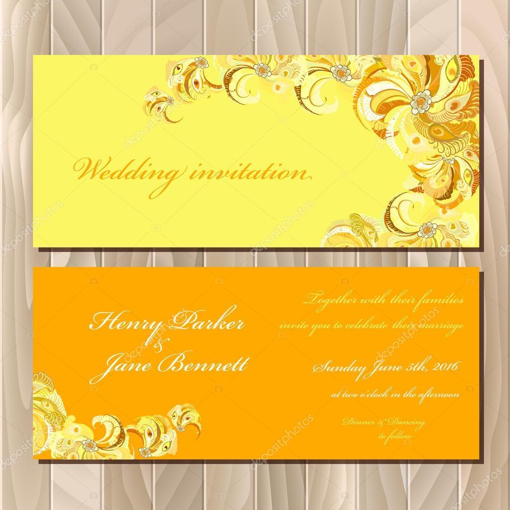 photo regarding Printable Invitation Card Stock referred to as Pea feather invitation template Pea feathers