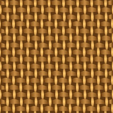 Abstract decorative wooden striped textured basket weaving background.