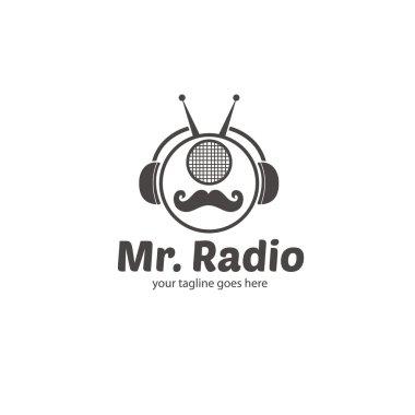Mr. Radio Logo Template