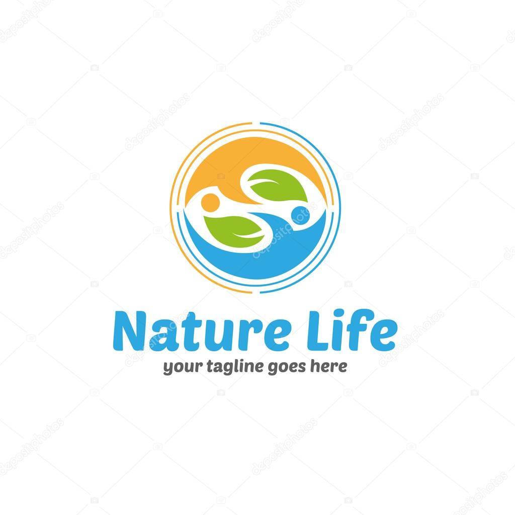 Nature Life Logo Template