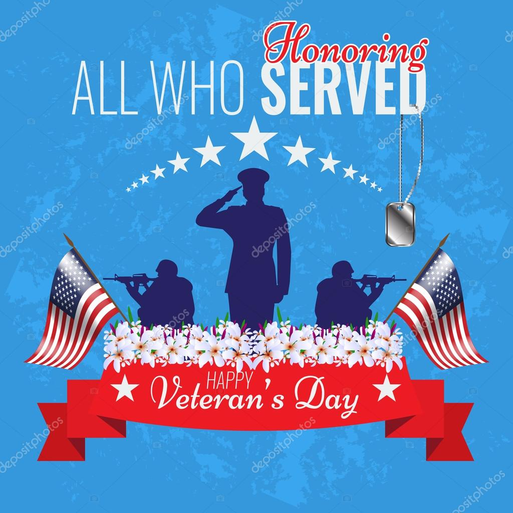 Veterans Day Stock Vectors Royalty Free Veterans Day Illustrations