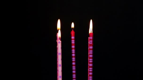Joyeux Anniversaire Bougies 5 Annee Floue Video Ds8 C 116738070
