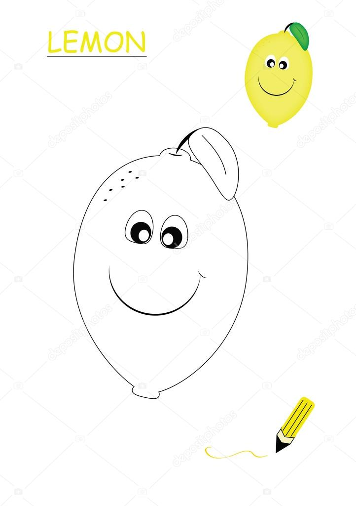 Kitap Limon Boyama Stok Foto Bennuccia 83838678