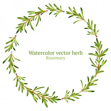Wreath with rosemary
