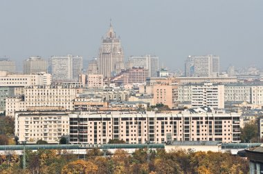 Urban landscape of Moscow