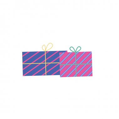 Gift box vector cartoon icon. Vector illustration set christmas present. icon