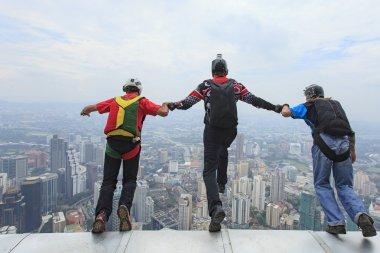 Kuala Lumpur International Based Jump.