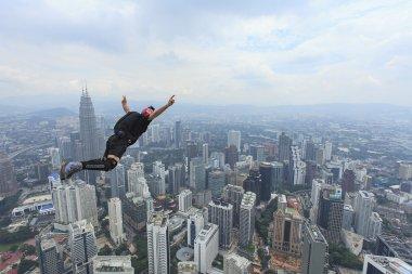 Kuala Lumpur Base Jump.