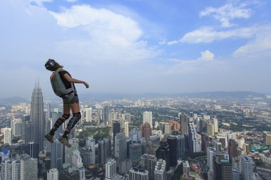 Kuala Lumpur International Base Jump.