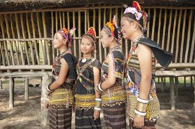 Ladies from Rungus ethnic.
