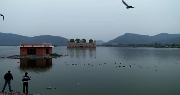 Cloudy Morning in Jal Mahal.
