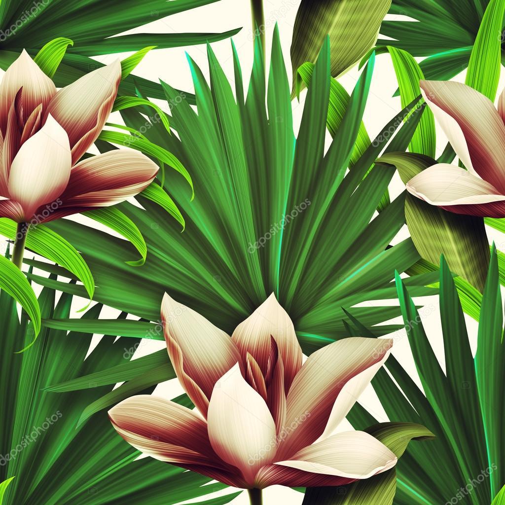 Tropical flower background in hawaiian style stock photo tropical flower background in hawaiian style stock photo izmirmasajfo