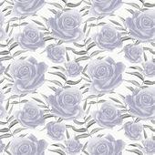 Fotografia Reticolo floreale variopinto senza giunte con le rose