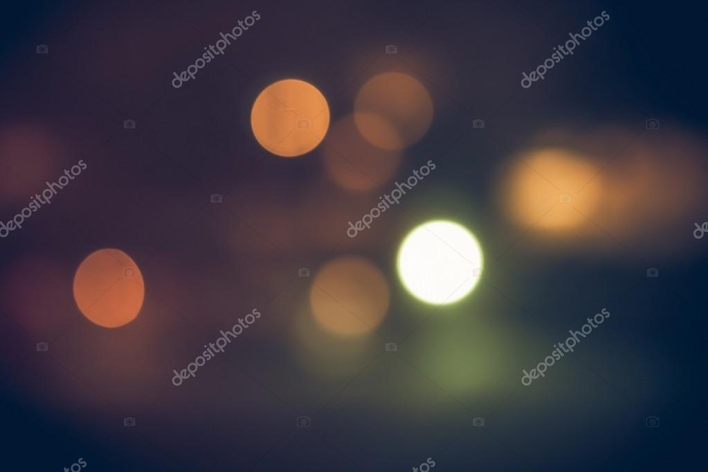 Night ray lights bokeh glitter defocused abstract