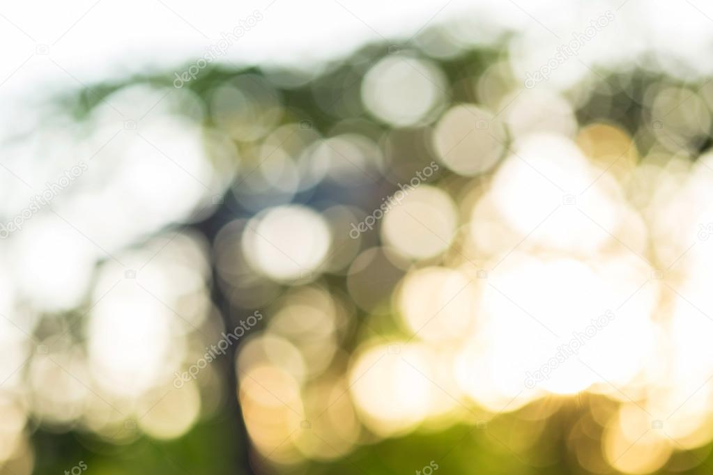Natural glitter sparkle defocused rays lights bokeh