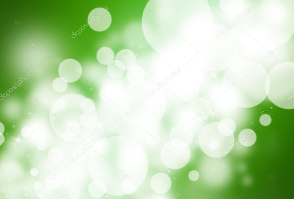 Green glitter sparkle defocused rays lights bokeh