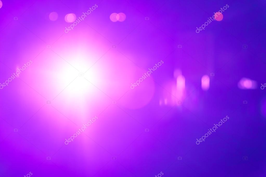 Purple ray lights bokeh glitte