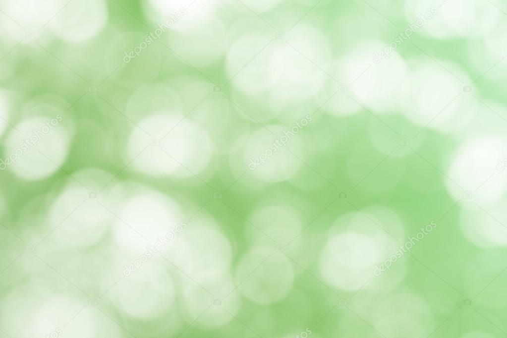 Green bokeh glitter defocused lights