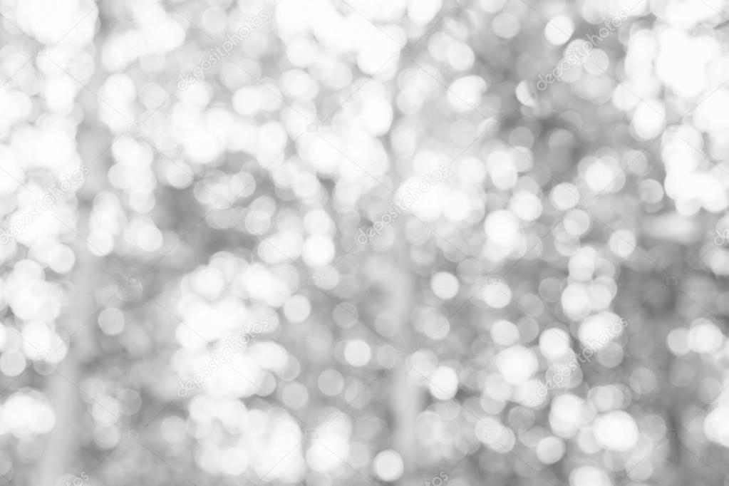 Grey bokeh glitter defocused lights