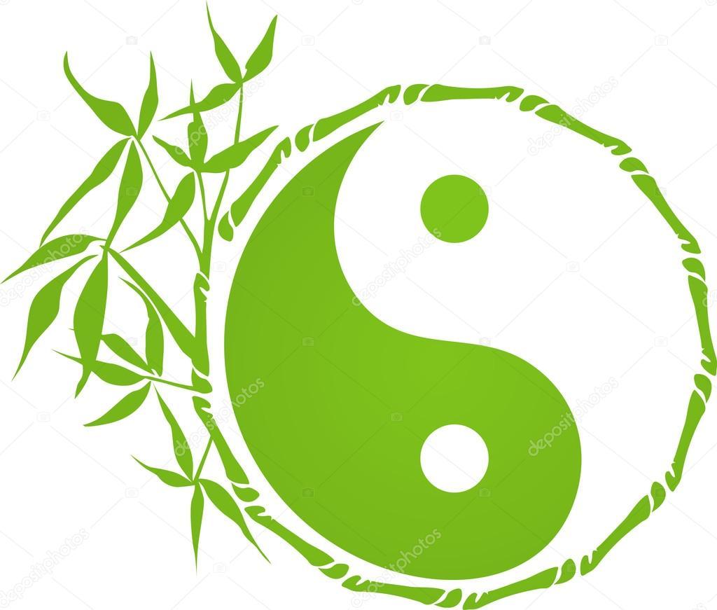 Bamboo Yin Yang