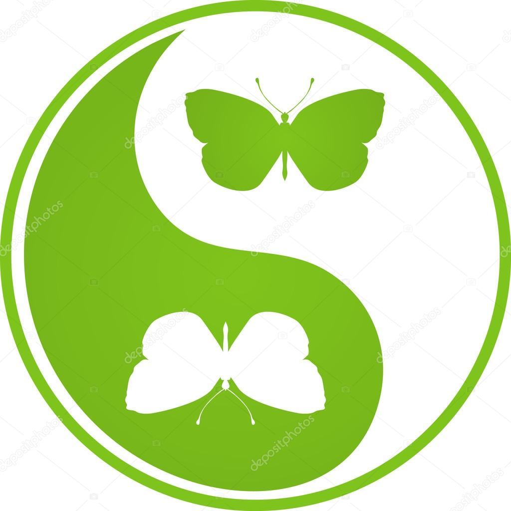 Butterfly Yin Yang