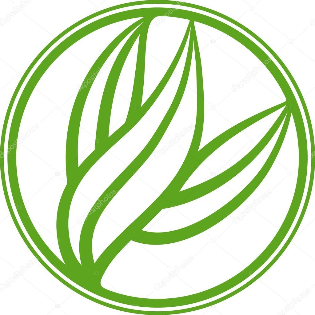 Leafy emblem